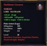 Darkbone Greaves