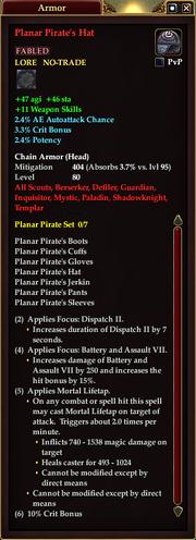 Planar Pirate's Hat