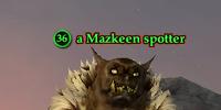 A Mazkeen spotter