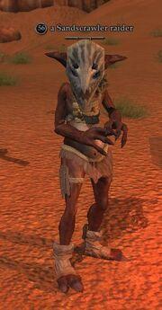 A Sandscrawler raider