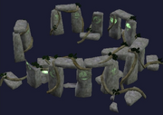 A verdant druid ring (Visible)