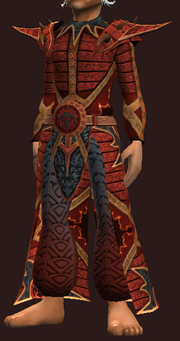 Seraphic Robe of the Invoker (Equipped)