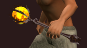 Shadowfire Rod (Equipped)