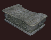 Hewn Stone Counter