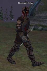 Lieutenant Verlaer