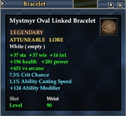 Mystmyr Oval Linked Bracelet