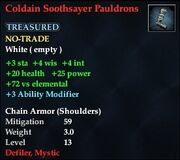 Coldain Soothsayer Pauldrons