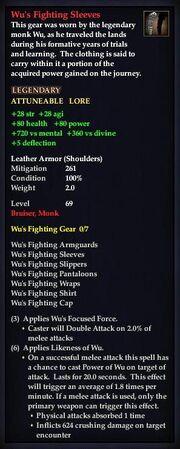 Wu's Fighting Sleeves