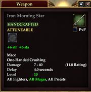 Iron Morning Star