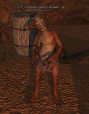 A Sandscrawler shamanite