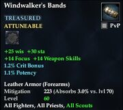 Windwalker's Bands