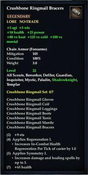 Crushbone Ringmail Bracers