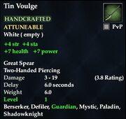 Tin Voulge