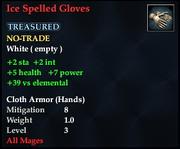 Ice Spelled Gloves