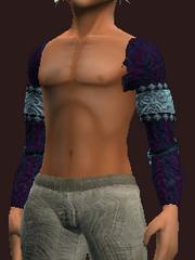 Untamed Wanderer's Shoulder Pads (Equipped)