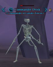 Commander Drisk