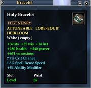 Holy Bracelet