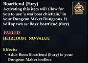 Boarfiend (Fury) - Boss
