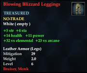 Blowing Blizzard Leggings