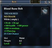 Blood Rune Belt