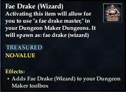 Fae Drake (Wizard)