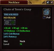 Chain of Teren's Grasp