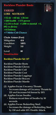 Reckless Plunder Boots
