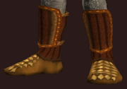 Sacrosanct Boots of the Spiritweaver (Equipped)