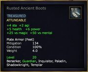 Rusted Ancient Boots
