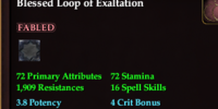 Blessed Loop of Exaltation