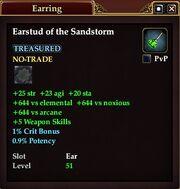 Earstud of the Sandstorm