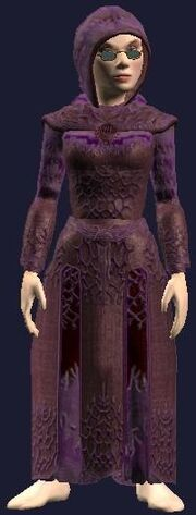 Robe of Mystical Silk (Equipped)