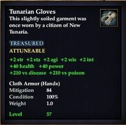 Tunarian Gloves