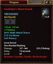 Gladiator's Short Sword