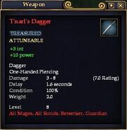 T'narl's Dagger