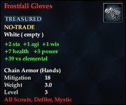 Frostfall Gloves