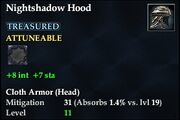 Nightshadow Hood