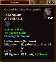 Orclord Stalking Wristguards