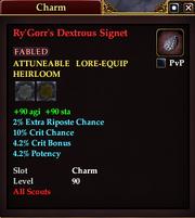 Ry'Gorr's Dextrous Signet