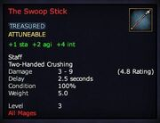 The Swoop Stick