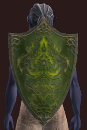 Emerald Knight's Shield (Equipped)