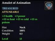 Amulet of Animation