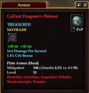 Gallant Dragoon's Helmet
