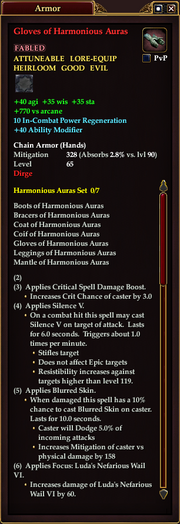 Gloves of Harmonious Auras