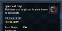 Open rat trap