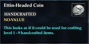 Ettin-headed coin examine