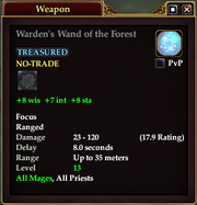 Warden's Wand of the Forest