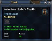 Antonican Healer's Mantle