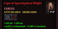 Cape of Apocalyptical Blight