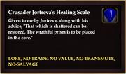 Crusader Jortreva's Healing Scale